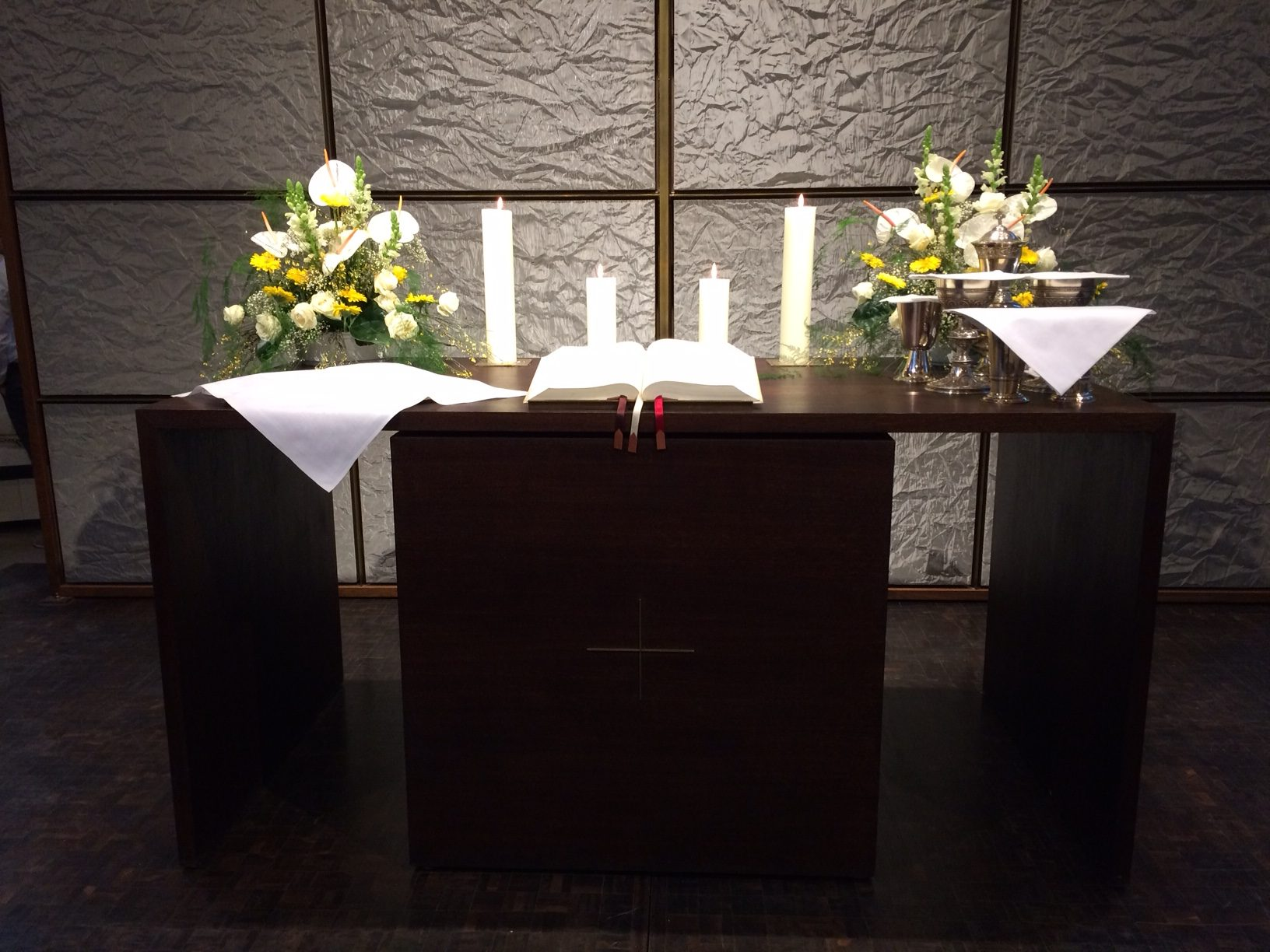 Altar Abendmahl 22.2.2015 IMG_0747