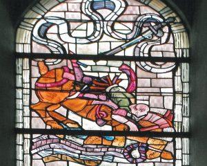 Kirchenfenster 10 Saulus