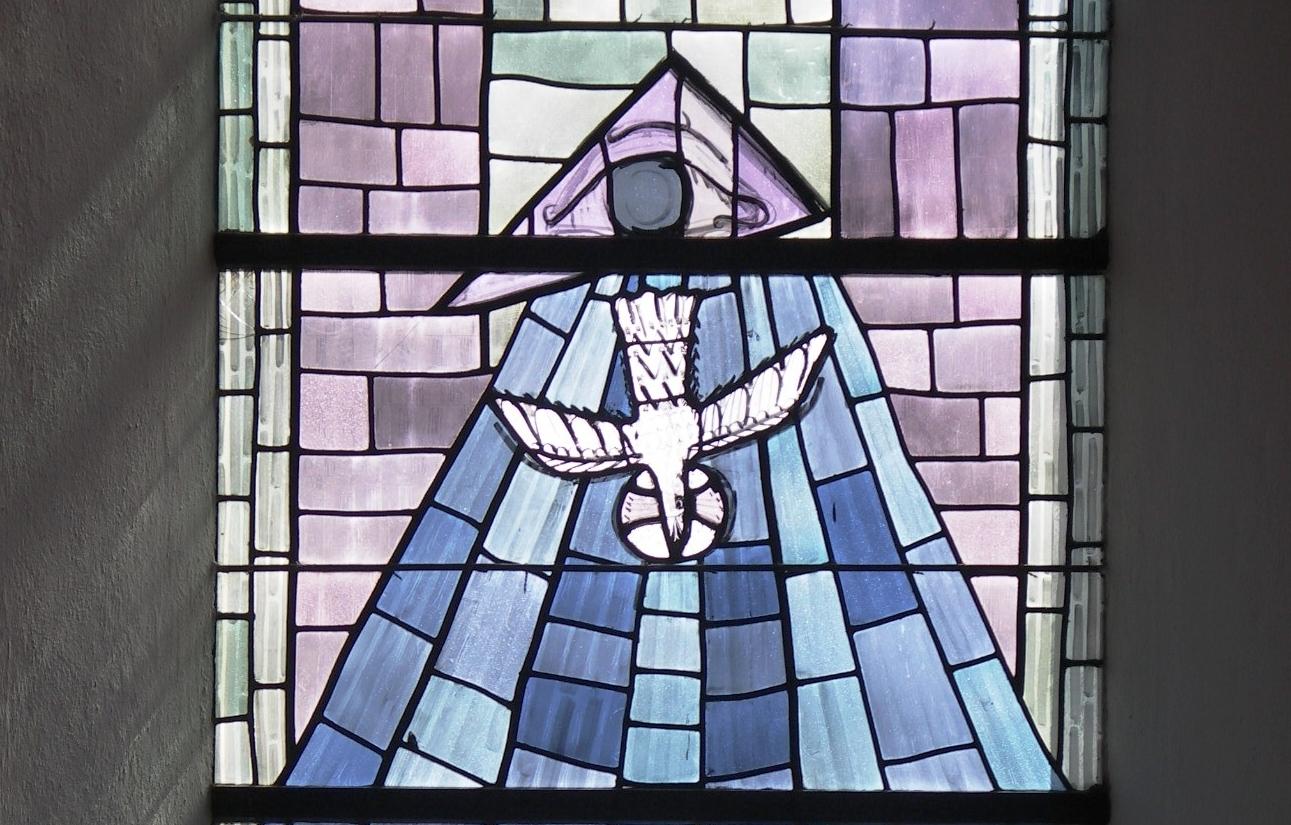 Crodel-Fenster Heiliger Geist